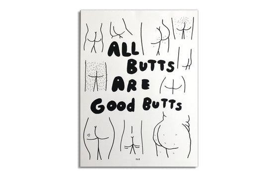 All Butts Are Good Butts by RAD Illustrates