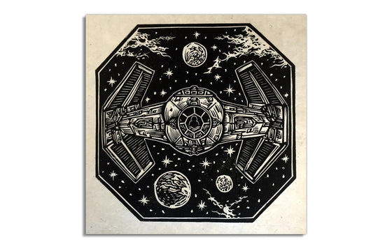 Darth Vader's Tie Fighter by Brian Reedy