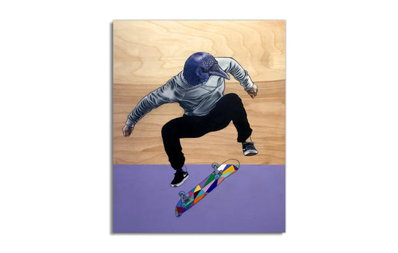 Unknown Cousin of Tony Hawk by MMont