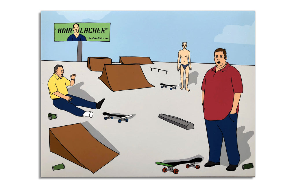 Oldies at the Skate Park by Derek Erdman