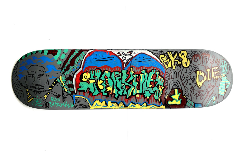 Sk8 or Die by Sharkula