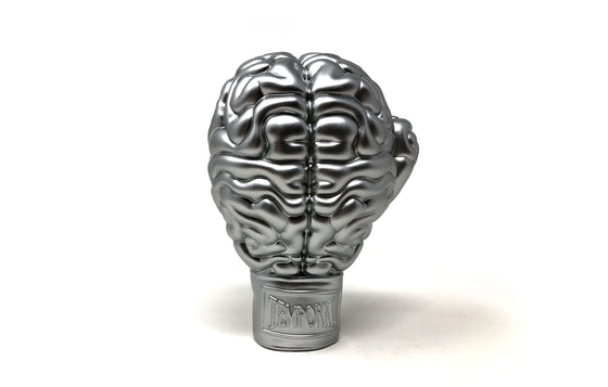 Boxing Brain [Silver] by Ron English