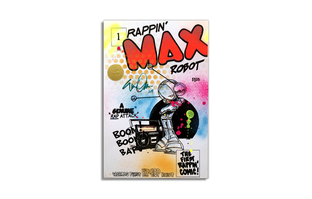 Rappin' Max Robot #2 by Eric Orr