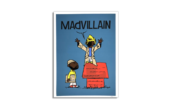 Madvillain by Franck Carteron [Shades of Blue Prints]