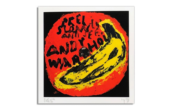 Velvet Underground | Andy Warhol [Orange] by Kerry Smith