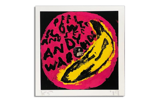 Velvet Underground | Andy Warhol [Pink] by Kerry Smith