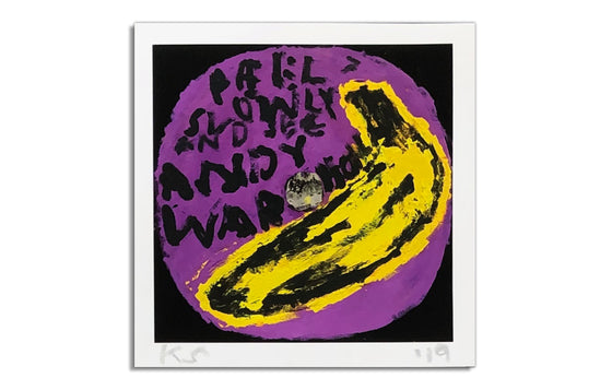 Velvet Underground | Andy Warhol [Purple] by Kerry Smith