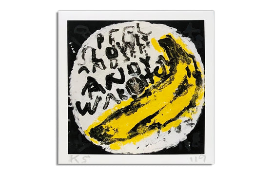 Velvet Underground | Andy Warhol [White] by Kerry Smith