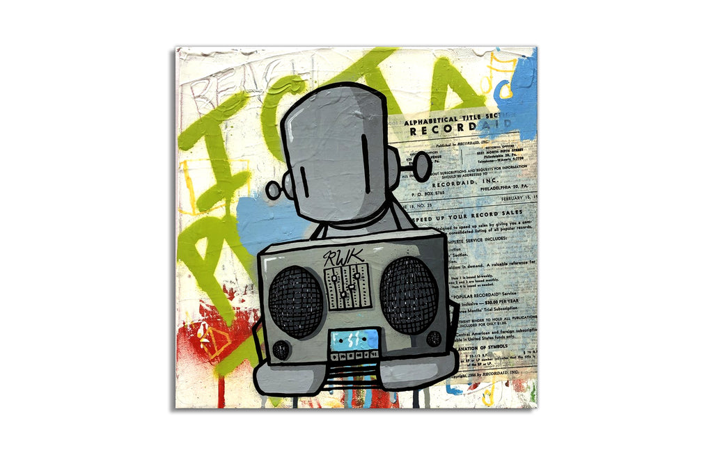Beats, Robots, Life by Chris RWK