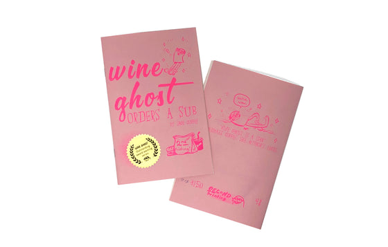 Wine Ghost Orders A Sub by Sage Coffey