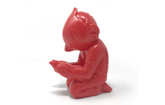A Sofubi [Red] by Sentrock