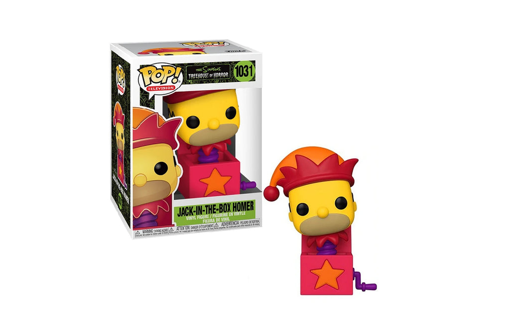 Jack-in-the-Box Homer 1031 by Funko Pop!