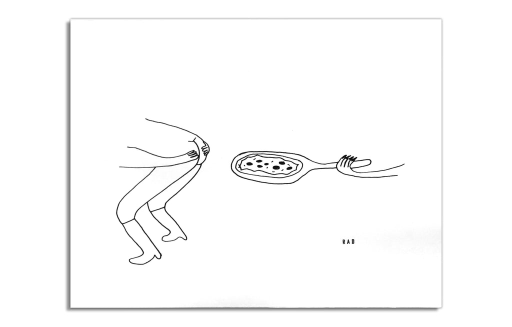 Pizza Butt by RAD Illustrates