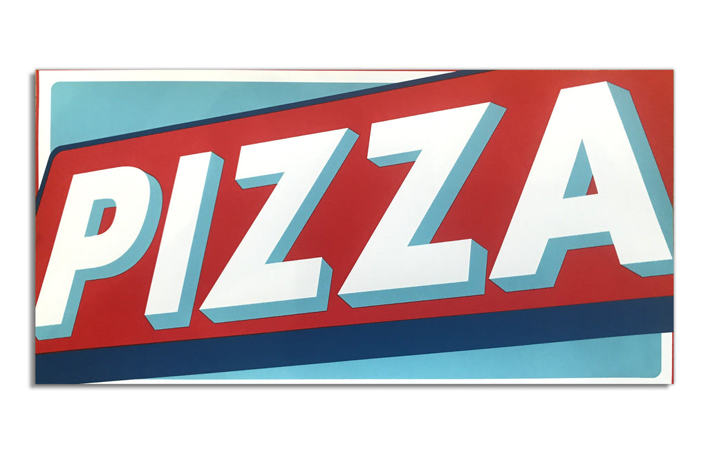 Pizza Hope [Blue] by Andrew Ghrist