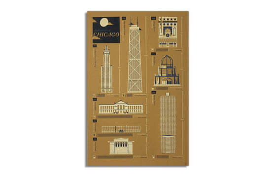 Architecture of Chicago by Sorry