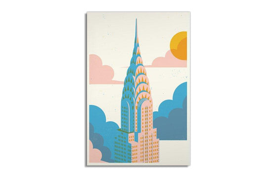 Chrysler Building by Sorry