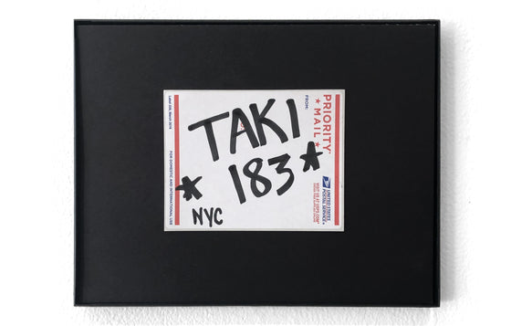 Postal Label [NYC] by TAKI 183
