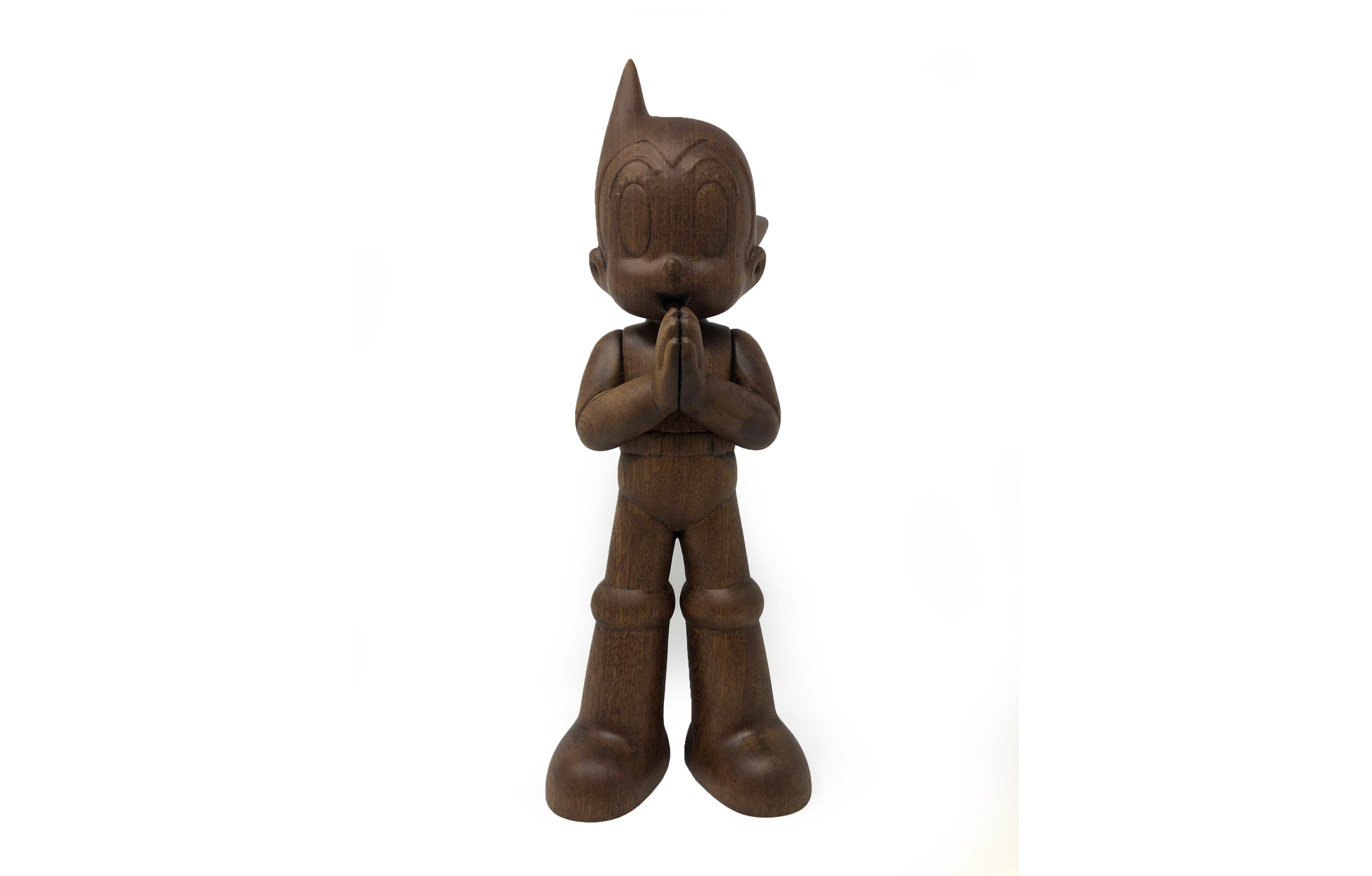 Greeting Astro Boy Wood By Toyqube Galerie F