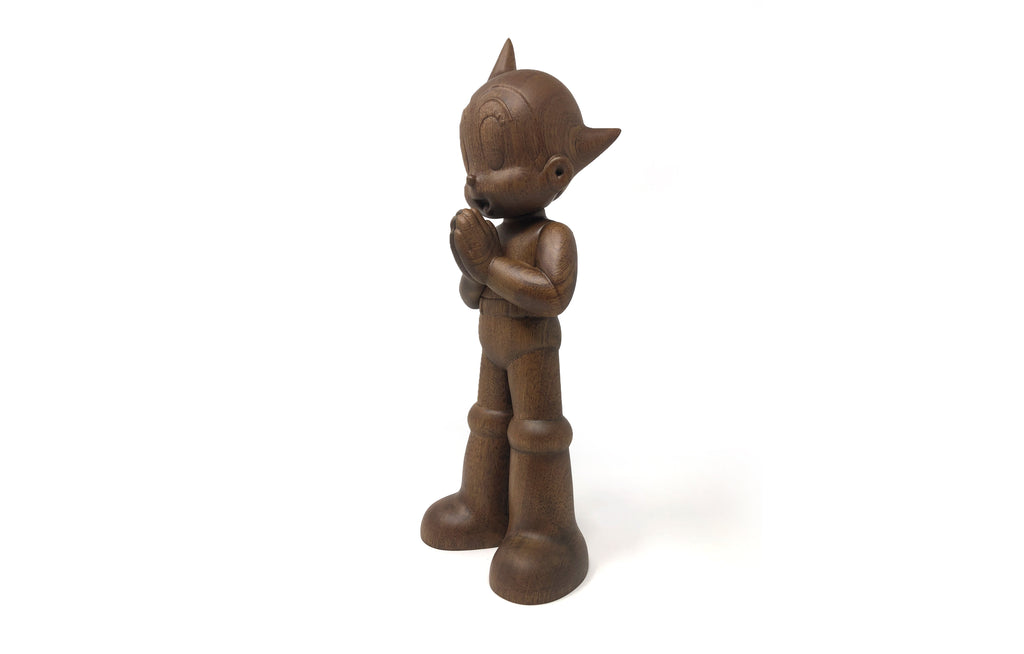 Greeting Astro Boy [Wood] by ToyQube