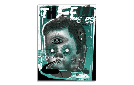 Thee Oh Sees by Twin Home Prints