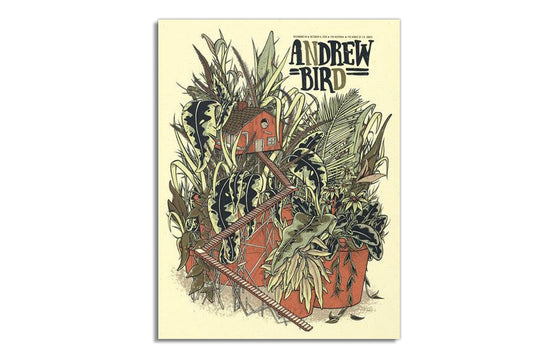 Andrew Bird w/ The National by Twin Home Prints