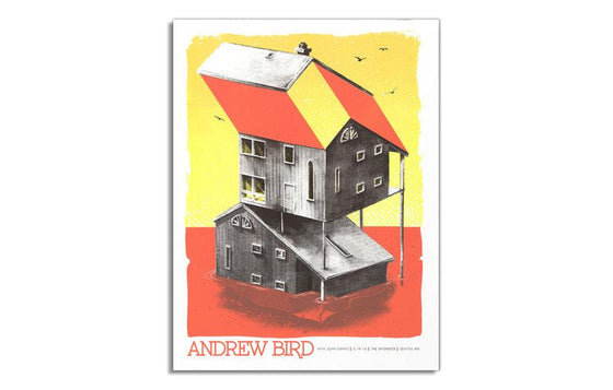 Andrew Bird w/ John Grant by Twin Home Prints