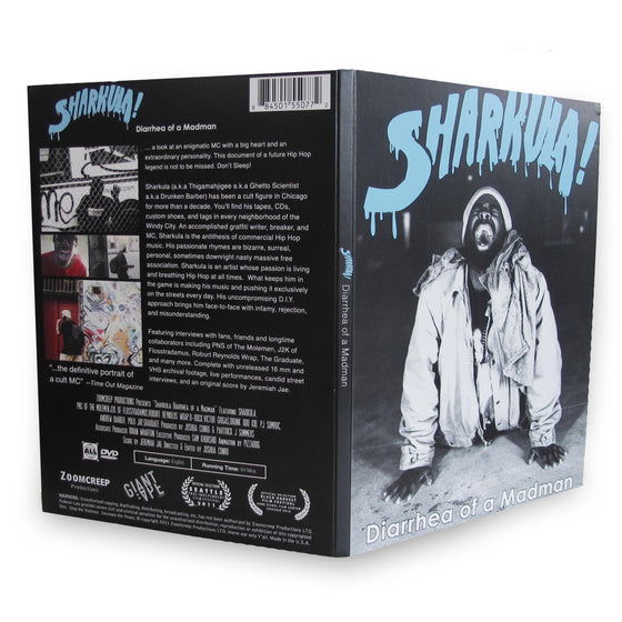 Diarrhea of a Madman DVD by Sharkula