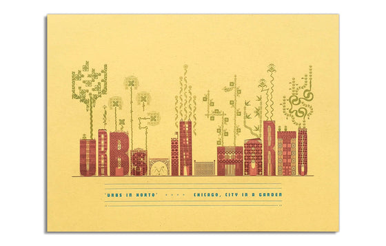 Chicago, City in a Garden by Starshaped Press
