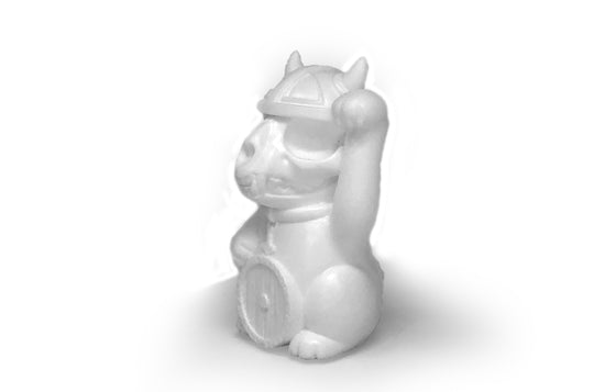 Nordic Lucky Cat by The Toy Viking