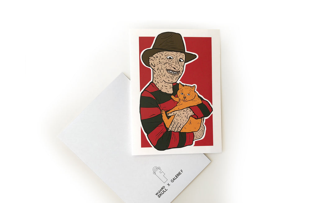 Notecard [Freddy Kruger] by Wizard Skull