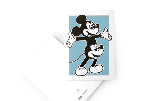 Notecard [Double Mickey] by Wizard Skull