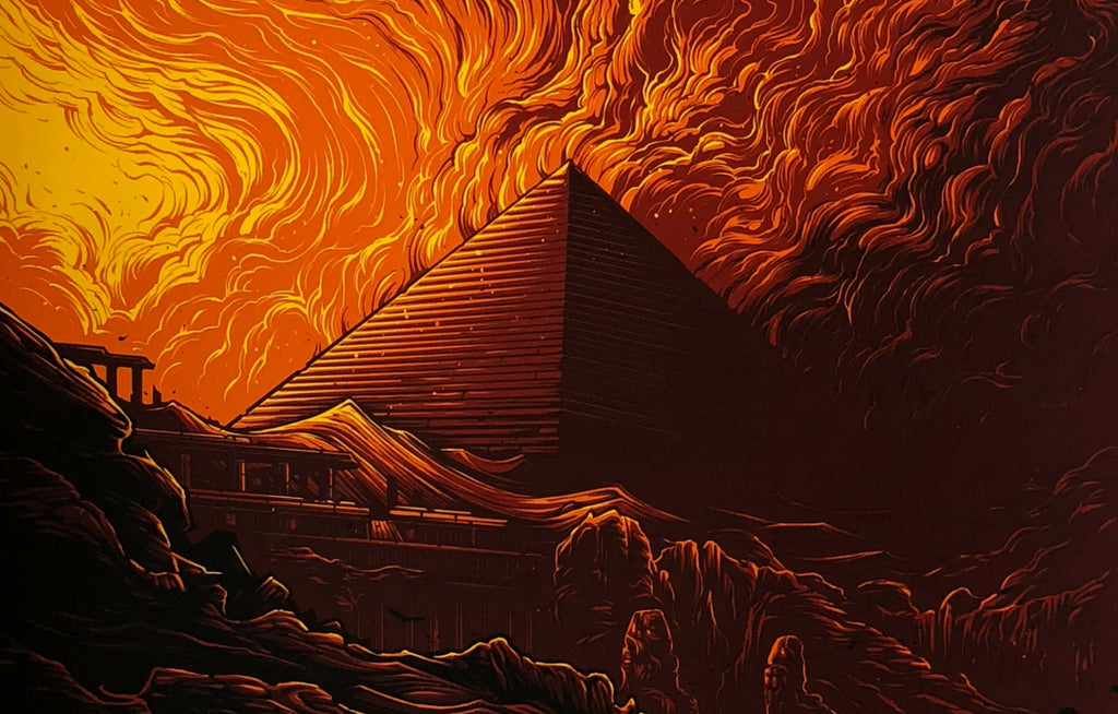 The Great Pyramid of Giza by Dan Mumford