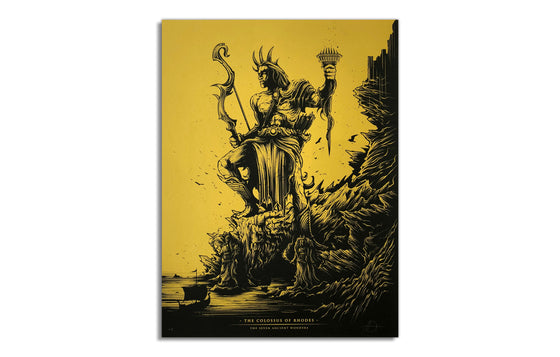 Variant [Gold]Colossus of Rhodes by Dan Mumford