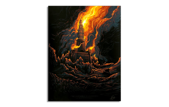Lighthouse of Alexandria by Dan Mumford