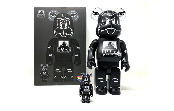 XLarge x D8Face [100% & 400% Set] by Bearbrick