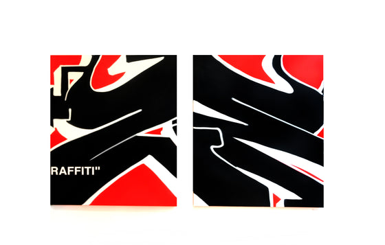 """Graffiti"" Original Painting Set by ZEB"