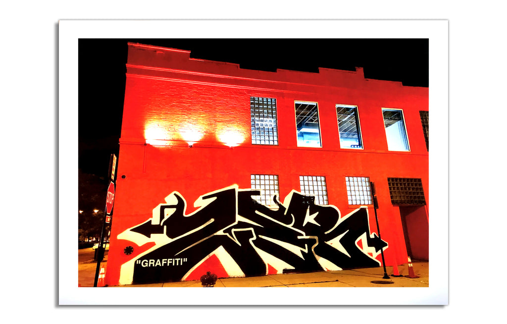 """GRAFFITI"" Print by ZEB"