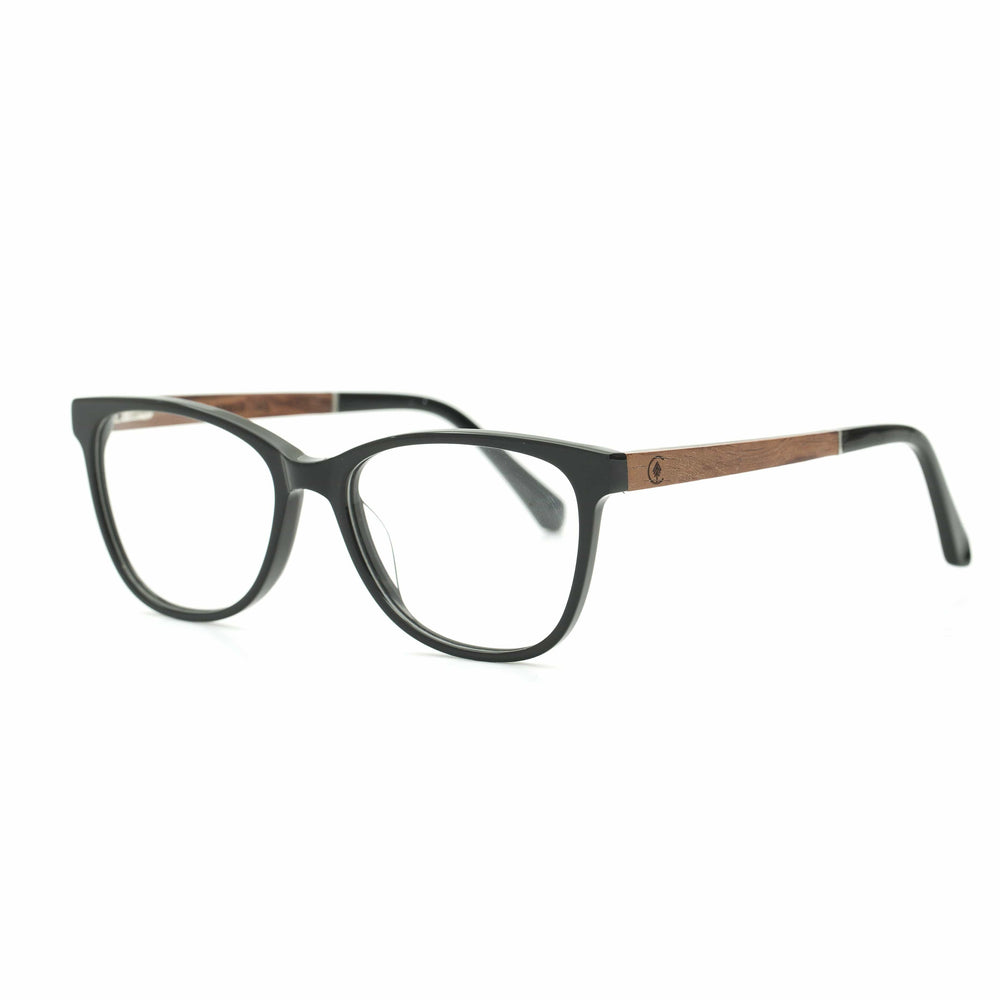 Hana | Prescription | Recycled Plastic & Wood Frame