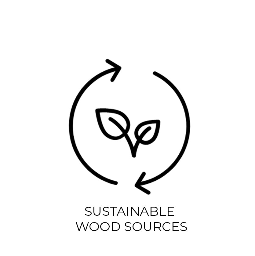 Sustainable Wood Sources Icon