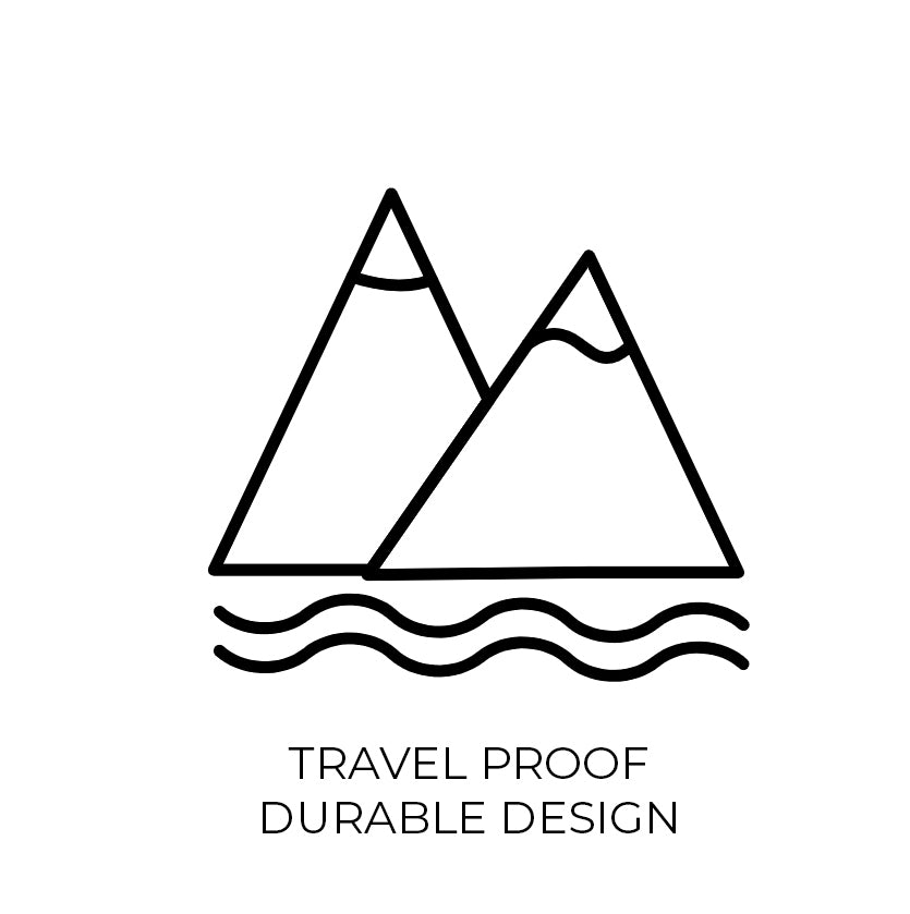 Travel Proof Durable Design Icon