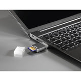Hama USB 3.0 UHS-II Card Reader, SD, Aluminum 00124024