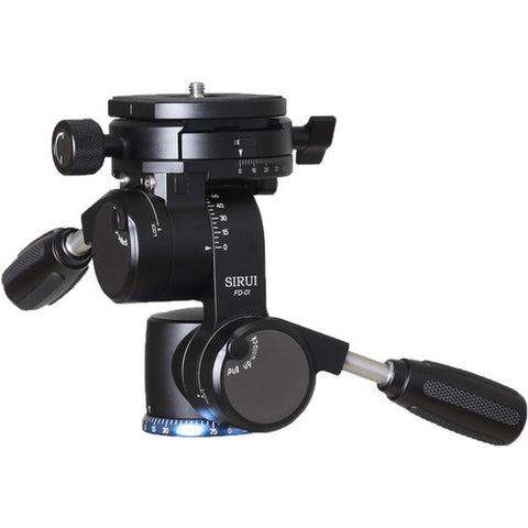 Sirui - FD-01 - Four Way Tilt Head with Folding Handles