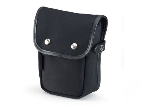 Billingham-Delta Pocket Black Canvas / Black Leather
