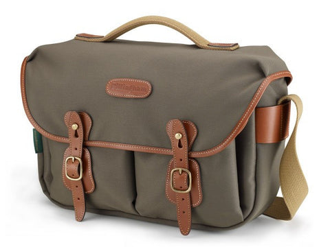 Billingham-Hadley Pro Sage FibreNyte / Tan Leather