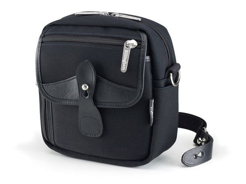 Billingham-Pola Stowaway Black Canvas / Black Leather