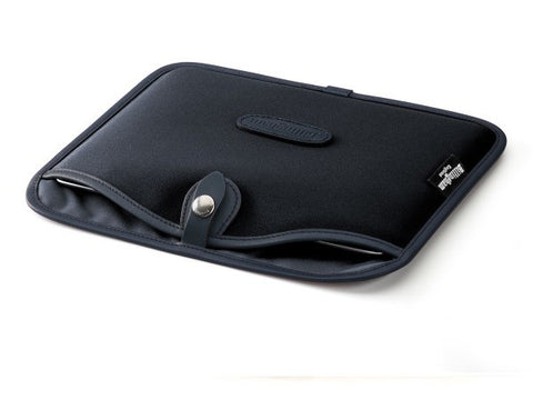 Billingham-Tablet Slip Black Canvas / Black Leather