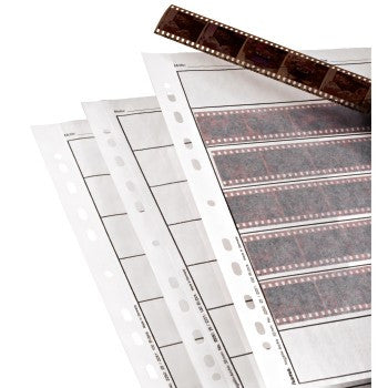 Hama - 2251 Negative Sleeves Glassine, 7 strips for 6 negatives with 24x36 mm, 100 pieces