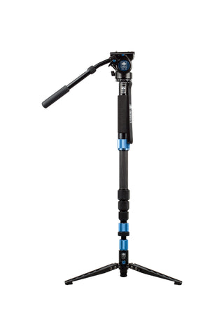 Sirui - P-324SR - P-SR Series Photo / Video Monopod - Carbon Fiber with VH-10 Head