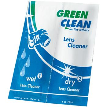 Green Clean Wet and Dry Lens Cleaner Pack 100 [LC-7010-100]