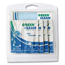 Green Clean Wet and Dry Lens Cleaner Pack 10 [LC-7010-10]